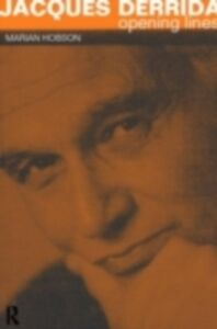 Ebook in inglese Jacques Derrida Hobson, Dr Marian , Hobson, Marian