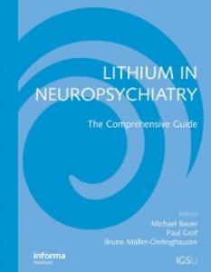 Ebook in inglese Lithium in Neuropsychiatry -, -