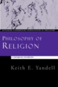Ebook in inglese Philosophy of Religion Yandell, Keith E.