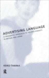 Ebook in inglese Advertising Language