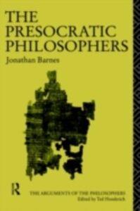 Foto Cover di Presocratic Philosophers, Ebook inglese di Jonathan Barnes, edito da Taylor and Francis
