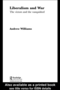 Ebook in inglese Liberalism & War -, -