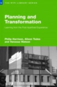 Ebook in inglese Planning and Transformation Harrison, Philip , Todes, Alison , Watson, Vanessa