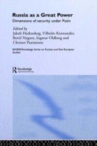 Foto Cover di Russia as a Great Power, Ebook inglese di  edito da Taylor and Francis