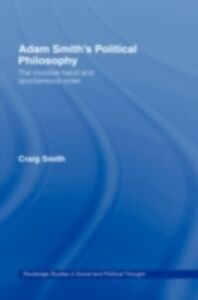 Ebook in inglese Adam Smith's Political Philosophy Smith, Craig