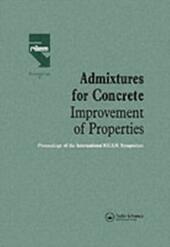 Admixtures for Concrete - Improvement of Properties