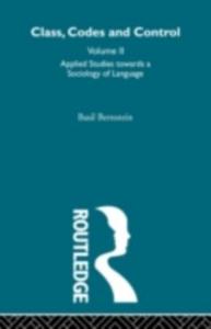 Ebook in inglese Applied Studies Towards a Sociology of Language Bernstein, Basil
