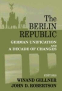 Foto Cover di Berlin Republic, Ebook inglese di  edito da Taylor and Francis