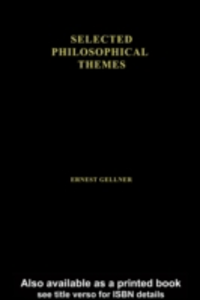 Ebook in inglese Cause and Meaning in the Social Sciences Gellner, Ernest