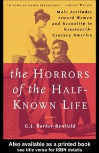Foto Cover di Horrors of the Half-Known Life, Ebook inglese di G J Barker-Benfield, edito da Taylor and Francis