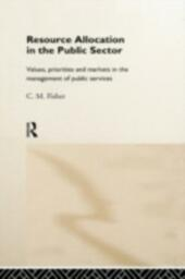 Resource Allocation in the Public Sector