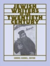 Routledge Encyclopedia of Jewish Writers of the Twentieth Century