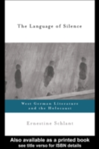 Ebook in inglese Language of Silence Schlant, Ernestine