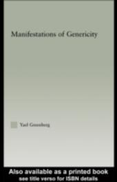 Manifestations of Genericity