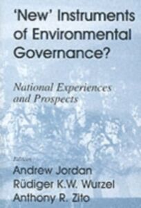 Ebook in inglese New Instruments of Environmental Governance?