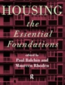 Ebook in inglese Housing: The Essential Foundations