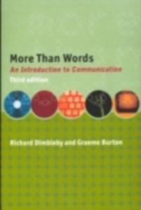 Ebook in inglese More Than Words Burton, Graeme , Dimbleby, Richard