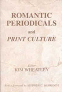 Ebook in inglese Romantic Periodicals and Print Culture