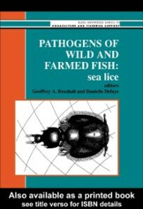 Ebook in inglese Pathogens Of Wild And Farmed Fish -, -