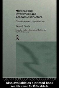 Ebook in inglese Multinational Investment and Economic Structure Narula, Rajneesh