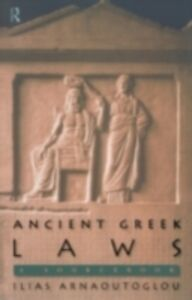Ebook in inglese Ancient Greek Laws Arnaoutoglou, Ilias