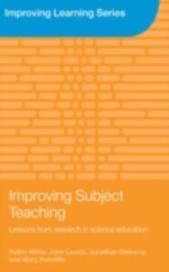 Foto Cover di Improving Subject Teaching, Ebook inglese di AA.VV edito da Taylor and Francis