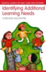 Ebook in inglese Identifying Additional Learning Needs in the Early Years -, -