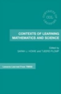 Ebook in inglese Contexts of Learning Mathematics and Science -, -