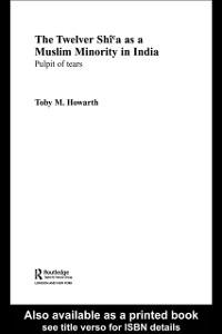 Ebook in inglese Twelver Shi'a as a Muslim Minority in India HOWARTH, TOBY