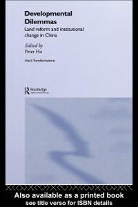 Ebook in inglese Developmental Dilemmas Ho, Peter
