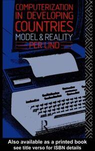 Foto Cover di Computerization in Developing Countries, Ebook inglese di Per Lind, edito da Taylor and Francis