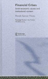 Ebook in inglese Financial Crises Visano, Brenda Spotton