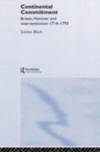 Ebook in inglese Continental Commitment Black, Jeremy