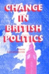 Ebook in inglese Change In British Politics Berrington, Hugh