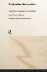 Ebook in inglese Evaluative Semantics Malrieu, Jean-Pierre
