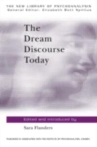 Ebook in inglese Dream Discourse Today Flanders, Sara