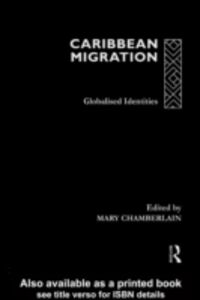 Foto Cover di Caribbean Migration, Ebook inglese di  edito da Taylor and Francis
