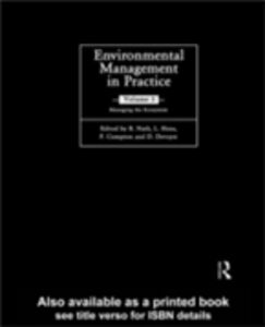 Ebook in inglese Environmental Management in Practice: Vol 3 -, -