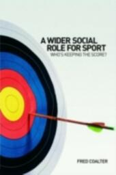 Wider Social Role for Sport