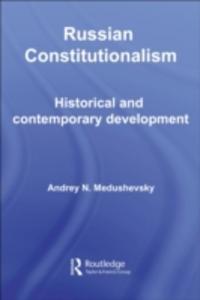 Ebook in inglese Russian Constitutionalism Medushevsky, Andrei