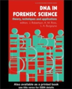 Ebook in inglese DNA In Forensic Science -, -