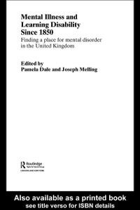 Ebook in inglese Mental Illness and Learning Disability since 1850 -, -