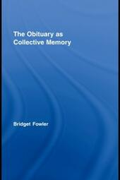 Obituary as Collective Memory
