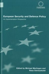 Foto Cover di European Security and Defence Policy, Ebook inglese di  edito da Taylor and Francis