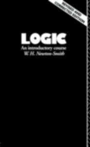 Ebook in inglese Logic Newton-Smith, W.H.