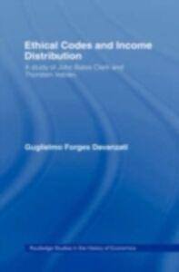 Ebook in inglese Ethical Codes and Income Distribution Davanzati, Guglielmo Forges