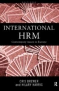 Foto Cover di International Human Resource Management, Ebook inglese di  edito da
