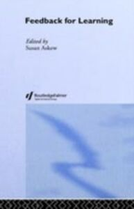 Ebook in inglese Feedback For Learning -, -
