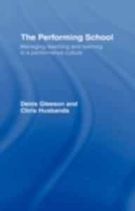 Ebook in inglese Performing School Gleeson, Dennis , Husbands, Chris