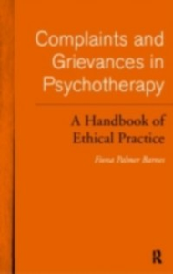 Ebook in inglese Complaints and Grievances in Psychotherapy Barnes, Fiona Palmer